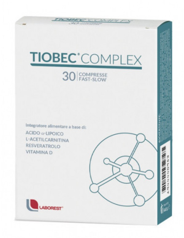 TIOBEC COMPLEX 30CPR FAST SLOW