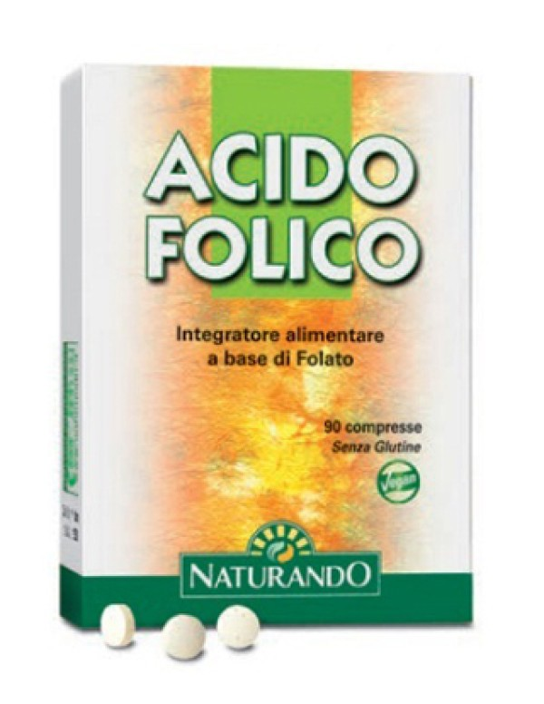 ACIDO FOLICO 90CPR NATURANDO