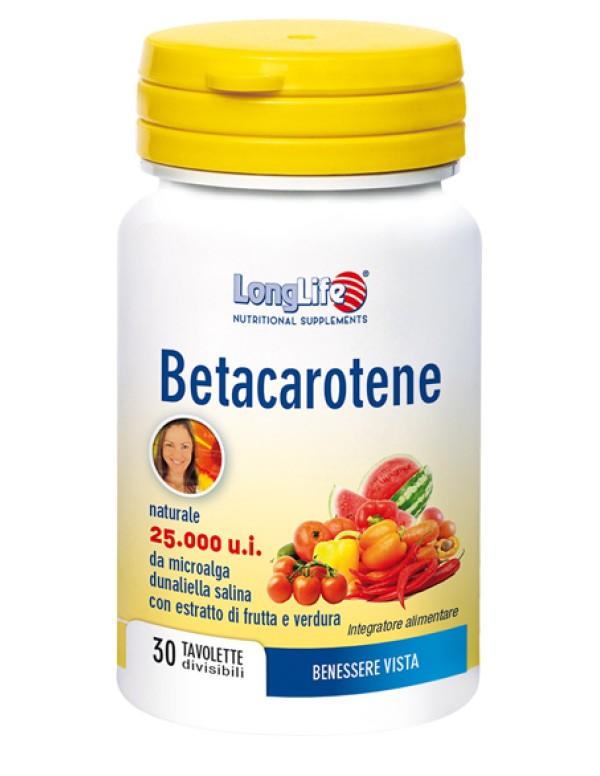 BETACAROTENE 30CPS LONG LIFE