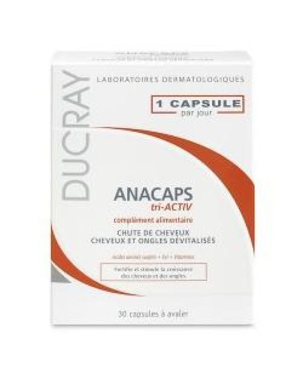 ANACAPS TRIACTIV 30CPS DUCRAY<<<