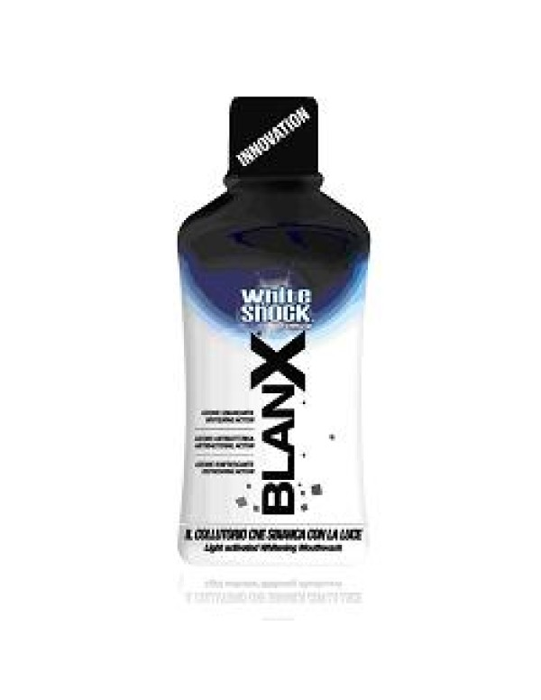BLANX  WHITE SHOCK COLLUT 500ML