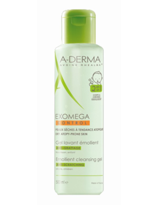ADERMA EXOMEGA CONT GEL 2IN1 500
