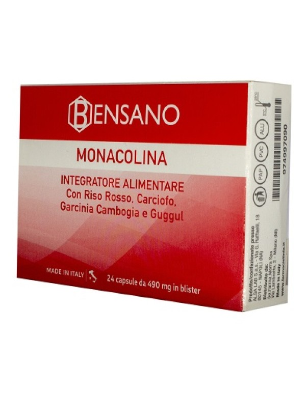 BENSANO MONACOLINA 24CPS
